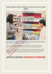 Kishore Biyani's Future Lifestyle to buy 30% stake in e-tailer Koovs.pdf