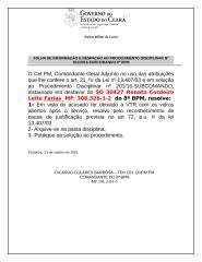 ARQUIVAMENTO SD 30427 R. Farias descuido com a VTR.doc