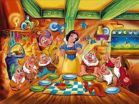 Historia infantil Branca De Neve e os Sete Anoes.mp4