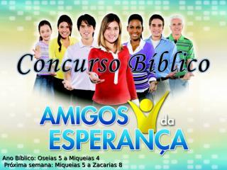 Concurso Bíblico 2011 - 38.ppt