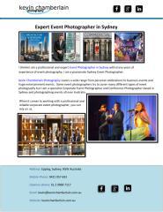 Expert Event Photographer in Sydney.pdf