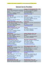 Internet Service Providers.doc