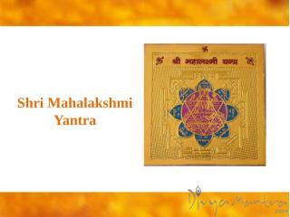 Shri Mahalakshmi Yantra.pptx