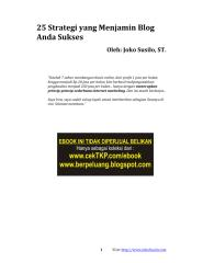 071. 25 strategi yang menjamin blog anda sukses  ( www.berpeluang.blogspot.com).pdf