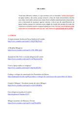 MILAGRES - Ótima coleção de Vídeos, Respostas, Textos, Livros e Áudios! - Atualização 1.pdf