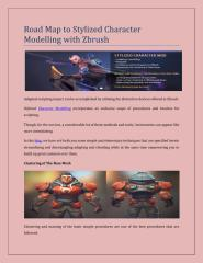 Road Map to Stylized Character Modelling with Zbrush.pdf