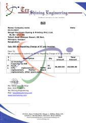 Company Pad of Tex Shining Engineering_Bill (1).doc