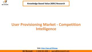 User Provisioning Market - Competition Intelligence.pdf