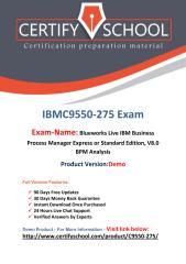 CertifySchool C9550-275 Certification Score Training.pdf