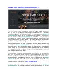 Romantic dining in USA.pdf