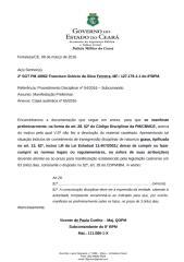 MP 2ºSGT 18962 Ferreira Ñ devolução de armamento.docx
