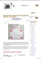 Quadro de recados com um toque de páscoa, como fazer _ Vila do Artesão.pdf