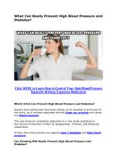 What Can Prevent High Blood Pressure and Diabetes.pdf