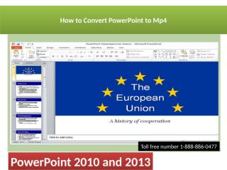How to Convert Powerpoint to Mp4 !!.pptx