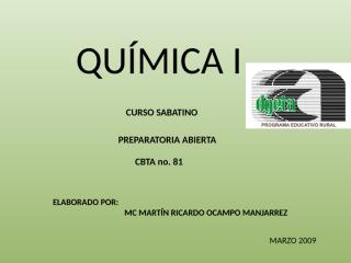 CURSO DE QUIMICA SABATINA ORIGINAL CORREGIDO.pptx