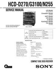 SONY HCD-D270, G3100, N255 SERVICE MANUAL (9-960-497-12).pdf