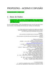 [ESBOÇO] Plano do Acervo e difusão - CHECK LIST.doc