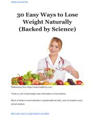 30 Easy Ways to Lose Weight Naturally (Backed by Science).pdf