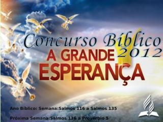 concurso bíblico 2012 - 32.ppt