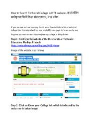 How to Search Technical College in DTE website.pdf
