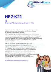 HP2-K21 Designing HP Enterprise Storage Solutions - Delta.pdf