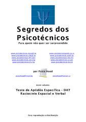 teste de aptidão específica - dat raciocinio espacial e verbal.pdf