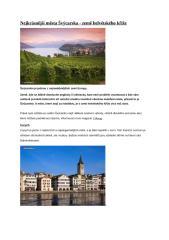 Nejkrásnější města Švýcarska.docx
