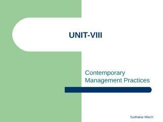 MS Unit-VIII.ppt