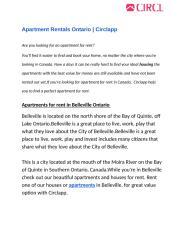 Apartment Rentals Ontario-Circlapp.docx