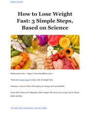 How to Lose Weight Fast_ 3 Simple Steps, Based on Science (1).pdf